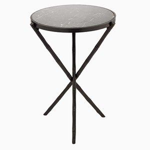 Petite Table Eclectic avec Pieds en Bambou de Brass Brothers