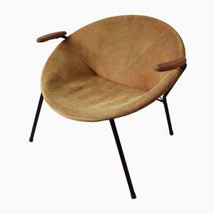 Danish Balloon Chair by Hans Olsen for LEA Furniture, 1950s