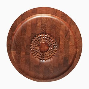 Mid-Century Danish Teak Carving Board from Digsmed