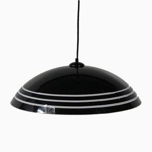 Lámpara colgante de plexiglás, años 70