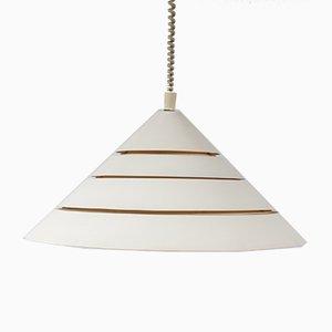 Lampe à Suspension Cone par Hans-Agne Jakobsson, 1960s