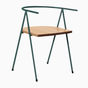 No. 52 London Cafe Chair in Forrest and Oak by Christian Watson