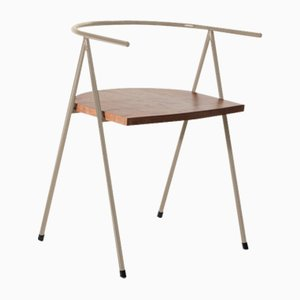 No. 52 London Cafe Chair in Hazel and London Plane by Christian Watson