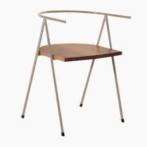 Nr. 52 London Cafe Chair aus Nussholz in Haselnussbraun von Christian Watson