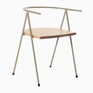 No. 52 London Cafe Chair in Hazel and Ash by Christian Watson