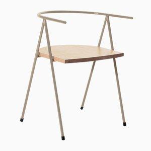 Nr. 52 London Cafe Chair aus Eschenholz in Haselnussbraun von Christian Watson
