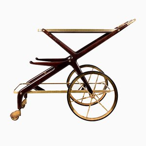 Italian Bar Cart by Cesare Lacca, 1950s