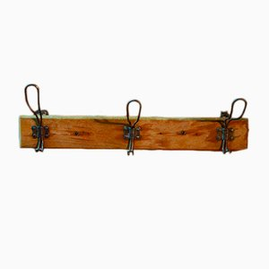 Vintage French Coat Rack