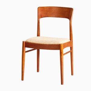Dänischer Beistellstuhl aus Teak von K/S, 1960er