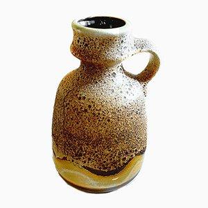 Large Mid-Century Lava Floor Vase from Dumler & Breiden, 1970s