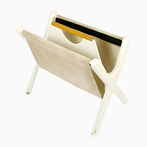 Modernist Danish Magazine Rack, 1970s