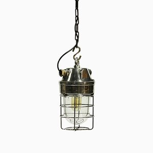 Vintage Italian Industrial Pendant Lamp