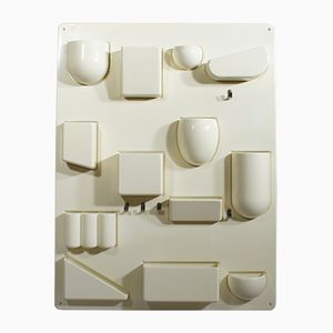 Uten-Silo II Plastic Wall Storage by Dorothy Becker-Maurer for Design M, 1960s