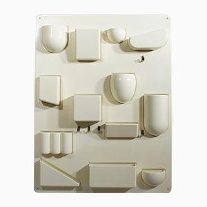 Uten-Silo II Wandregal aus Kunststoff von Dorothy Becker-Maurer für Design M, 1960er