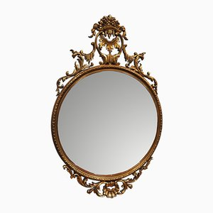 Baroque Style Ornate Mirror, 1950s