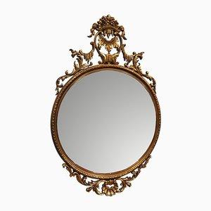 Verzierter Spiegel im Barock-Stil, 1950er
