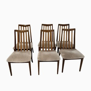 Vintage Dining Chairs from G-Plan, 1970s, Set of 6
