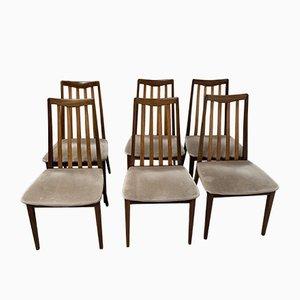 Vintage Esszimmerstühle von G-Plan, 1970er, 6er Set