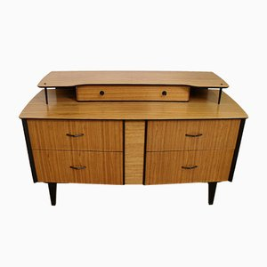Enfilade Mid-Century Zebrawood, 1960s