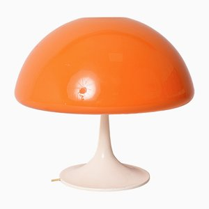 Lampade da tavolo a forma di fungo di Luigi Massoni per Guzzini, anni '60, set di 2