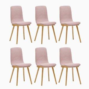 Vintage A-6150 Chairs from Zakłady Mebli Giętych, Set of 6