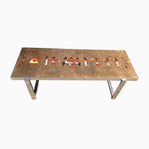Table Basse de De Nisco, Italie, 1970s