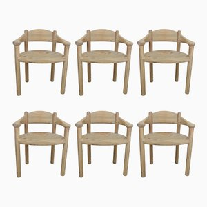 Chaises de Salon par Rainer Daumiller, 1970s, Set de 6