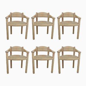 Esszimmerstühle von Rainer Daumiller, 1970er, 6er Set