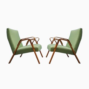 Mid-Century Czech Loungers from Tatra, 1960​s, Set of 2