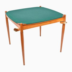 Italian Walnut Games Table by Gio Ponti for Fratelli Reguitti, 1958
