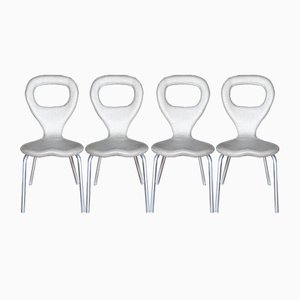 TV Chairs by Marc Newson for Moroso, 1990s, Set of 4