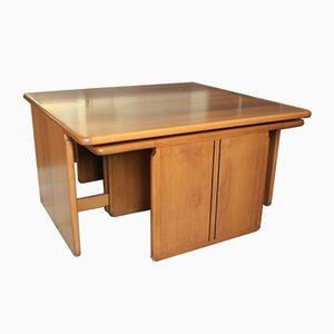 Tavolini a incastro di Tobia & Afra Scarpa per Maxalto, anni '70
