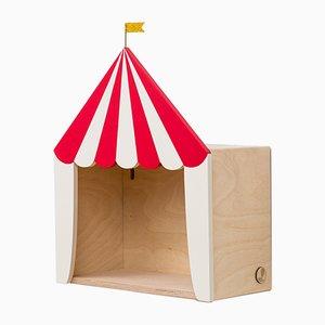 Estantería Big Top Circus en rojo y blanco de Up! Warsaw