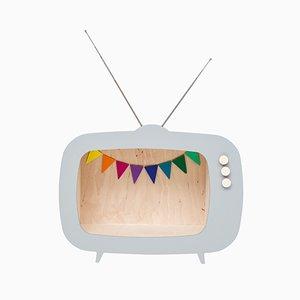 Teevee TV Regal in Grau von Up! Warschau