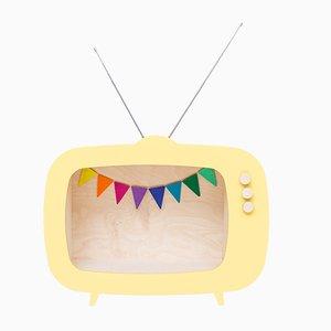 Teevee TV Regal in Gelb von Up! Warschau