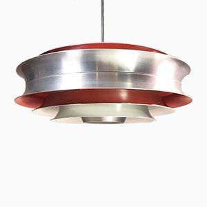Lámpara de techo vintage de Carl Thore para Granhaga Metallindustri