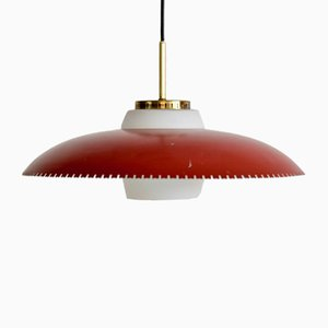 Danish Pendant Lamp by Bent Karlby for Lyfa, 1950s