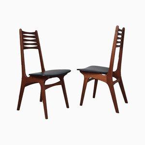 Chaises de Salon Modèle 83 Mid-Century en Teck par Niels Otto Moller pour Boltinge Stolefabrik, Danemark, Set de 2