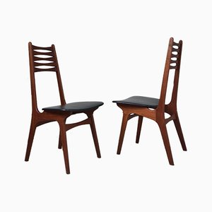 Mid-Century Model 83 Danish Teak Dining Chairs by Niels Otto Moller for Boltinge Stolefabrik, Set of 2