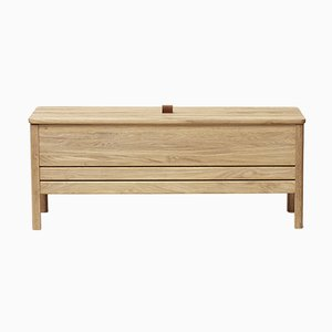 A Line Storage Bench, Oak from Form&Refine