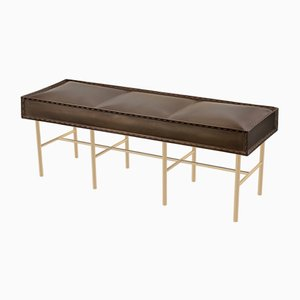 Soft Iron Bench by Damiano Costagli for Brass Brothers