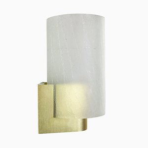 Frosted Glass Wall Light from Philips, 1960s