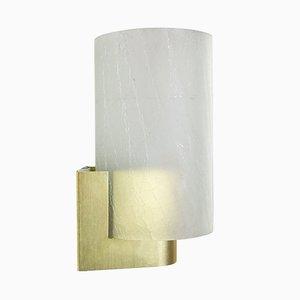 Lampada da parete in vetro satinato di Philips, anni '60