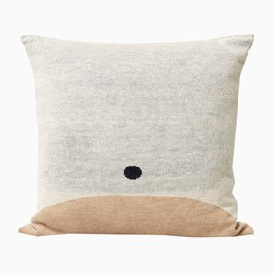 Aymara Pattern Cushion in Cream from Form&Refine