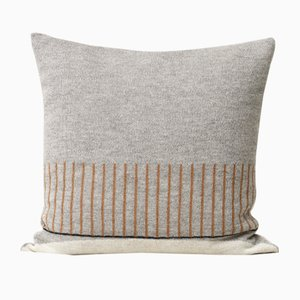 Aymara Pattern Cushion in Grey from Form&Refine