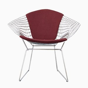 Sedia Diamond di Harry Bertoia per Knoll International, anni '80