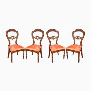 Chaises de Salon Antique, Set de 4