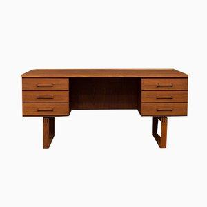 Dänischer Schreibtisch von Henning Jensen & Torben Valeur für Schou Andersen, 1970er