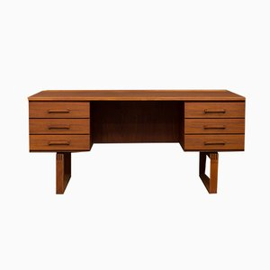 Danish Desk by Henning Jensen & Torben Valeur for Schou Andersen, 1970s