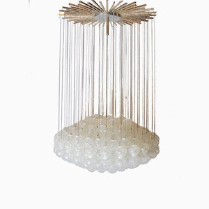 Large Mid-Century Italian Chandelier from Zeroquattro